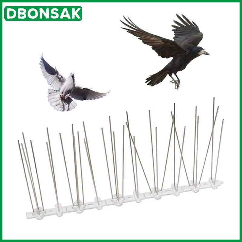 Venda quente 9M Pássaro e Spikes Pombo Pássaro Anti Anti Pombo Plástico Pico para Se Livrar de Pombos e controle de Pragas assustar As Aves