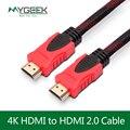 MyGeek HDMI cabo de 1 M 1.5 M 3 M 4 K cabo HDMI 1.4 1080 P 3D para ps3 projetor hd lcd apple tv notebook computador cabo de fio pc