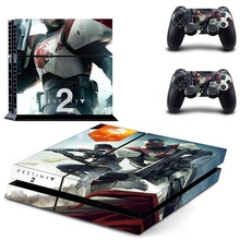 Destiny 2 Sticker PS4 Skin Decal Sticker For PlayStation4 Console and 2  controller skins