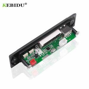 Image 5 - Kebidu samochodowy sprzęt Audio USB TF FM moduł radiowy bezprzewodowy Bluetooth 5V 12V MP3 płytka dekodera WMA odtwarzacz MP3 z pilotem do samochodu