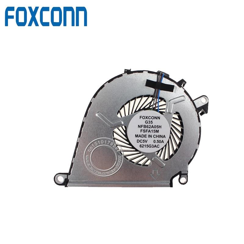 NEW FOR HP OMEN 15-AX020CA 15-AX039NR 15-AX252NR 15-AX253DX CPU Fan 858970-001