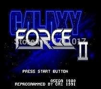 GalaxyForce II JP Shell 16 bit MD Game Card For Sega Mega Drive For Genesis