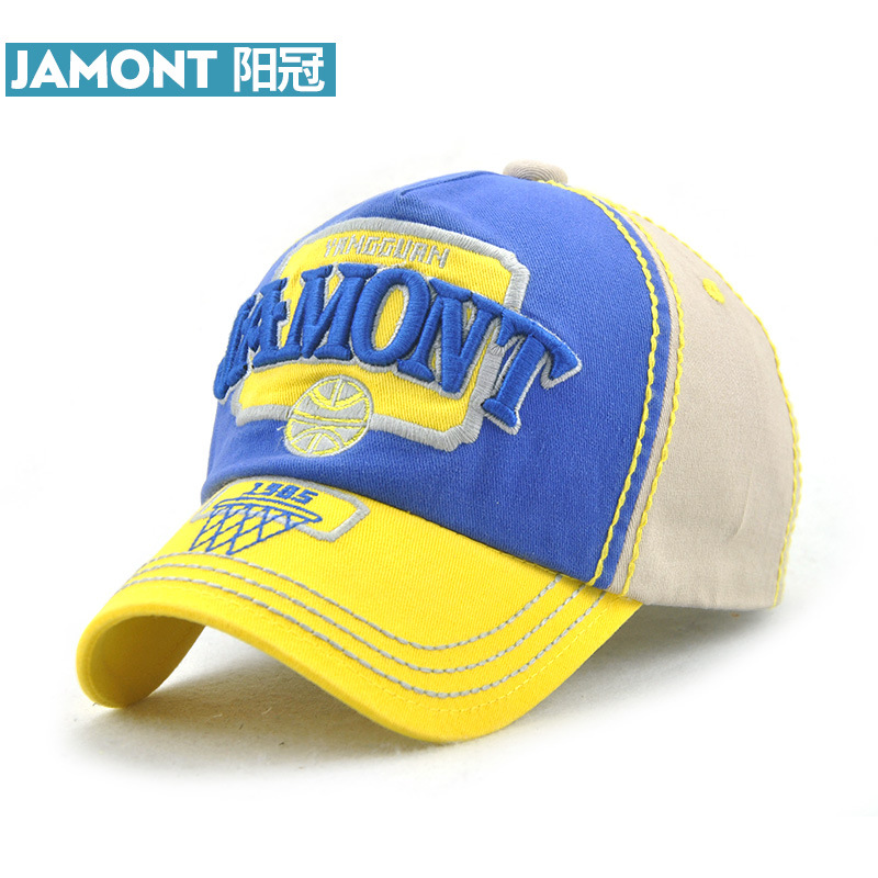 JAMONT  Baseball Cap Baby Boys Girls Adjustable Caps Kids Fashion Cotton Hat  Snapback Cap High Quality e16c7398d2