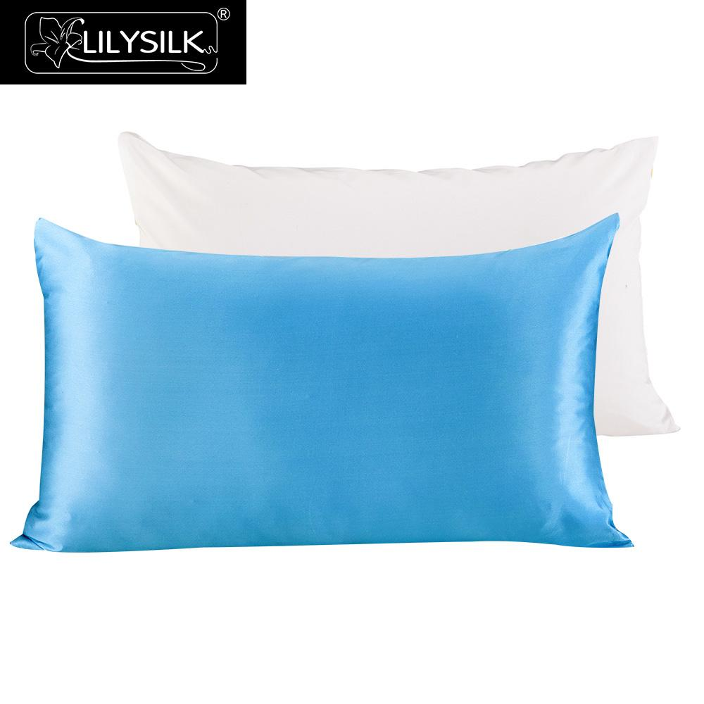 Lilysilk 100 Pure Mulberry Silk Pillowcase With Cotton