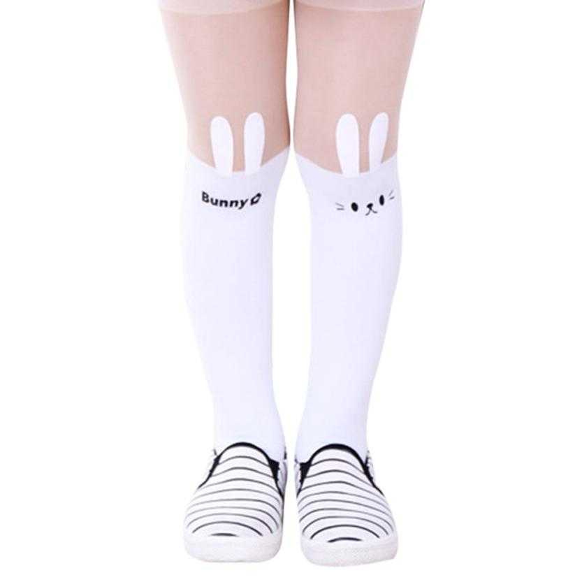 BMF TELOTUNY Fashion Pantyhose Cartoon Piece Solid Siamese Tights For Baby Girls Toddler Kids Apr10 Drop Ship