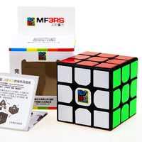 Moyu mofangjiaoshi 3x3x3 MF3RS magiczna kostka Puzzle bez naklejki profesjonalnego fidget kostka prędkości magico zabawki edukacyjne dla dla dzieci
