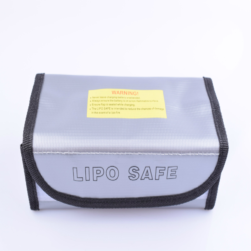 Fireproof Water Proof Lipo Battery Safe Bag For Charge & Storage  Battery,Charger,Motor,ESC ,RC Planes Cars Boat 185mm*75mm*60mm