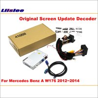 Liislee For Mercedes Benz A W176 2012 2014 Original Screen Update Reversing Track Image Reverse Camera