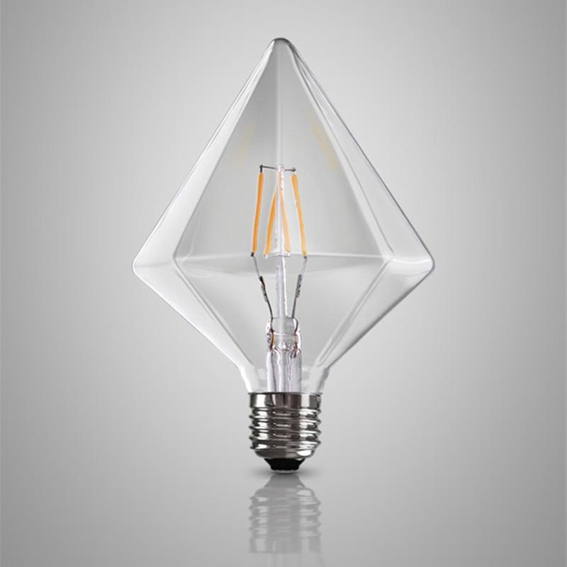 Edison Vintage Glühbirne,led Lampe Warmweiß E27 Retro Antike 6 Stück Garten & Terrasse