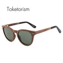 Toketorism hot new fashion wood Skateboard sunglasses womens mens polarized glasses 0606