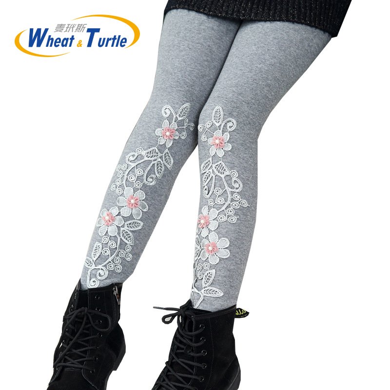 2018 Mother Kids Children S Clothing Pants Child Girl S Spring Autumn Winter Thicken Velvet Warm