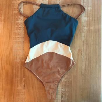 f3698192fa10 2019 nueva llegada Sexy mujer una pieza trajes de baño Monokini Copa Bikini  de corte alto trajes de playa de baño estilos de verano ropa de playa >> ...
