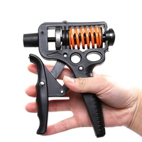 Рукоятка кистевой эспандер Регулируемый тяжелый ручки ручной захват Мощность рукоятка для кисти предплечья прочность тренер