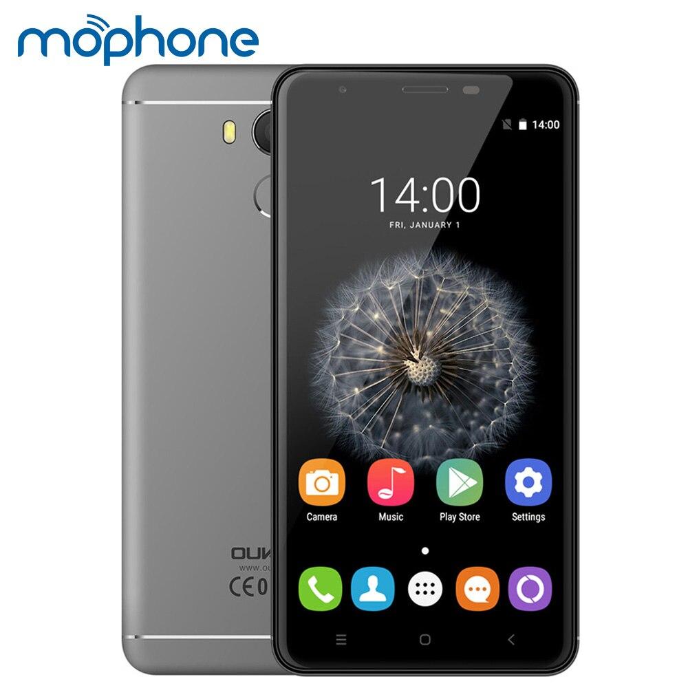 """Цена за OUKITEL U15 PRO 4 Г Отпечатков Пальцев Смартфон 5.5 """"HD MTK6753 Octa Ядро Мобильного Телефона 3 ГБ + 32 ГБ Android 6.0 16MP 3000 мАч OTG Мобильный Телефон"""