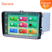 Seicane Android 9.0 9 2Din GPS Multimedia Player Car Radio For VW Golf Jetta Tiguan T5 B7 Passat MK5 Seat Leon Skoda Octavia