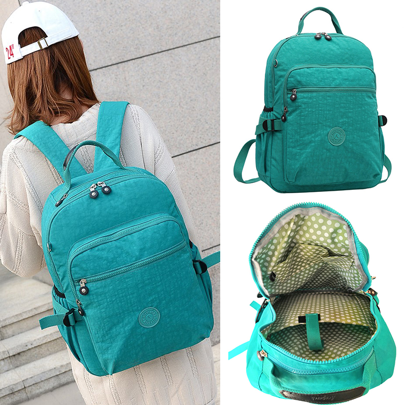 Image 2 - ACEPERCH Casual Original School Backpack for Teenage Mochila  Escolar Travel School Bags Backpack for Laptop With Monkey  KeychainBackpacks