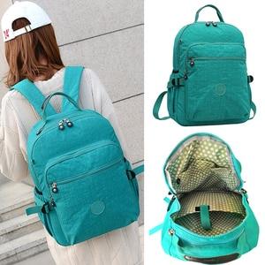 Image 2 - ACEPERCH Casual oryginalny plecak szkolny dla nastolatki Mochila Escolar torby podróżne szkolne plecak na laptopa z małpim brelokiem