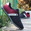 Zapatos de los hombres de san valentín super estrella zapatos casuales transpirable Hombre Sapato masculino schuhe ayakkabı zapatillas de deporte azul rojo