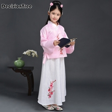 2019 new royal children empress wu zetian costume girl chinese traditional dance clothing kids tang dynasty princess hanfu dress цена в Москве и Питере