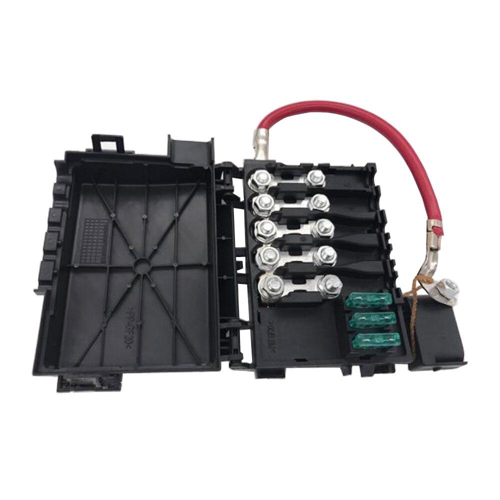 Nouvelle Boîte À Fusibles Batterie Terminal Pour le Scarabée de VW Golf City Jetta Bora MK4 Pour Audi A3 S3 Pour Seat Toledo pour Skoda Octavia 1J0937550A