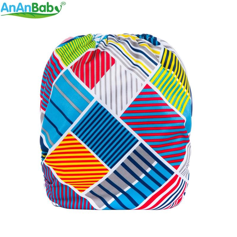 Šarene ispisuje tkanina pelene za višekratnu bebu pelene sve u - Pelene i toaletni trening - Foto 6