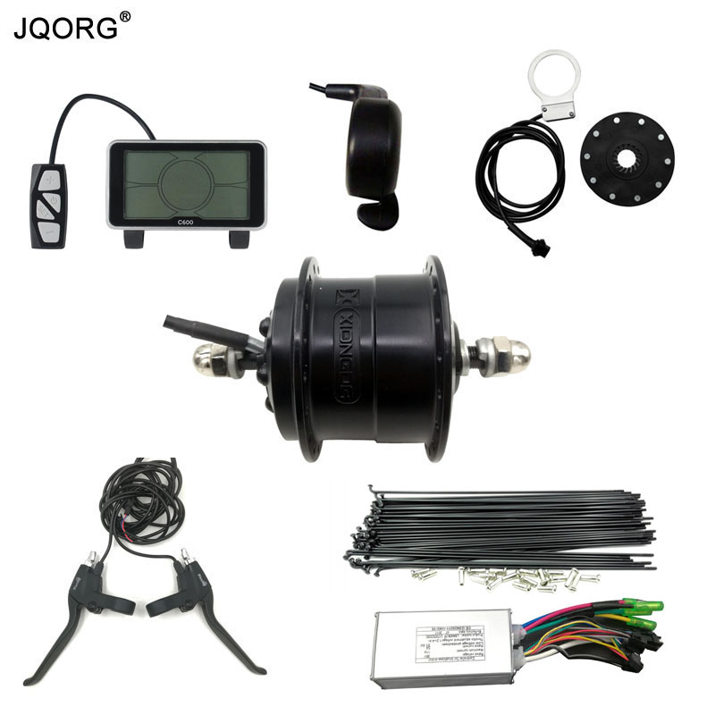 JQORG Electric bike Conversion Kits Front Wheel Drive 40N.m Torque Hub Motor For Electric Bicycle Refit Ultralight BLDC Motor 26 250w 36v electric bicycle front motor electric wheel hub motor electric motor for bicycle