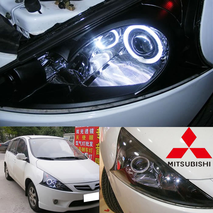 Mitsubish Grandis headlight,2008 (Fit for LHD&RHD),Free ship! Grandis fog light,2ps/set+2pcs Aozoom Ballast,Outlander,Grandis ...