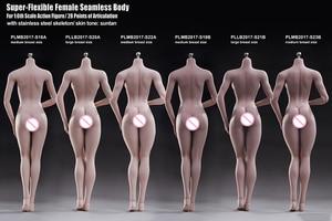 Image 3 - TBLeague 1/6ผู้หญิงBody Figurine Pale Suntanผิวไม่มีรอยต่อหญิงรูปคอลเลกชันสำหรับ12นิ้วรูป