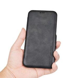 Image 4 - Pu capa carteira de couro para iphone 6s 7 8 plus, com porta cartões suporte e dinheiro de bolso capa de silicone macio para xr xs xmax