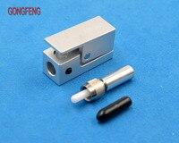 GONGFENG 1 PC nuevo conector de fibra óptica LC brida cuadrada fibra desnuda SMA905 adaptador acoplador módulo conector especial al por mayor|Conectores| |  -