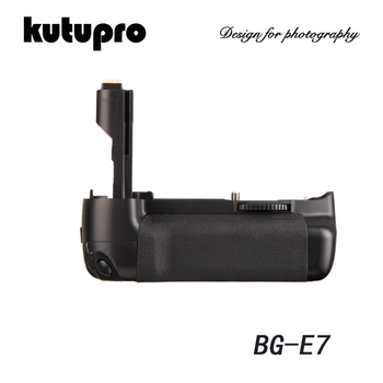 Kutupro Multi power vertical battery grip for Canon 7D DSLR Camera work with LP-E6 battery replacement BG-E7