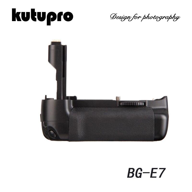 Kutupro multi-puissance poignée de batterie verticale pour Canon 7D DSLR appareil photo travailler avec LP-E6 BG-E7 de remplacement de batterie