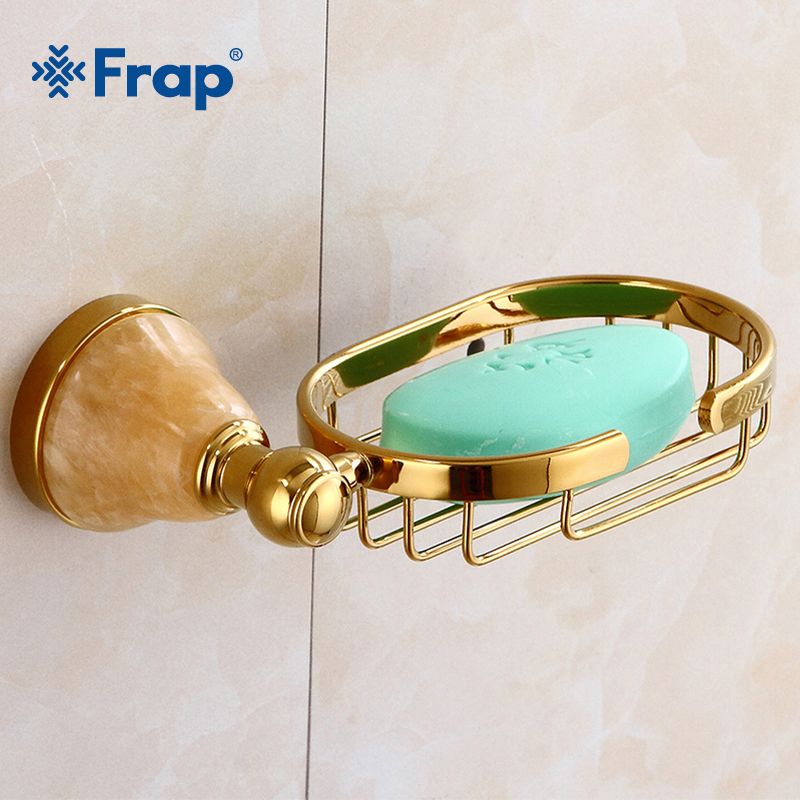 Frap High Quality Soap Dishes Antique Art Carving Bathroom Accessories Soap Dish Solid Brass Wall Mounted Soap Holder Y18011 art soap пластилиновое мыло бабочка art soap