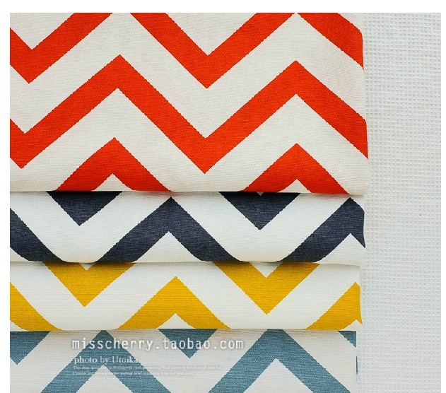 Strip Cotton Fabric For Dressmaking Bedding Furniture