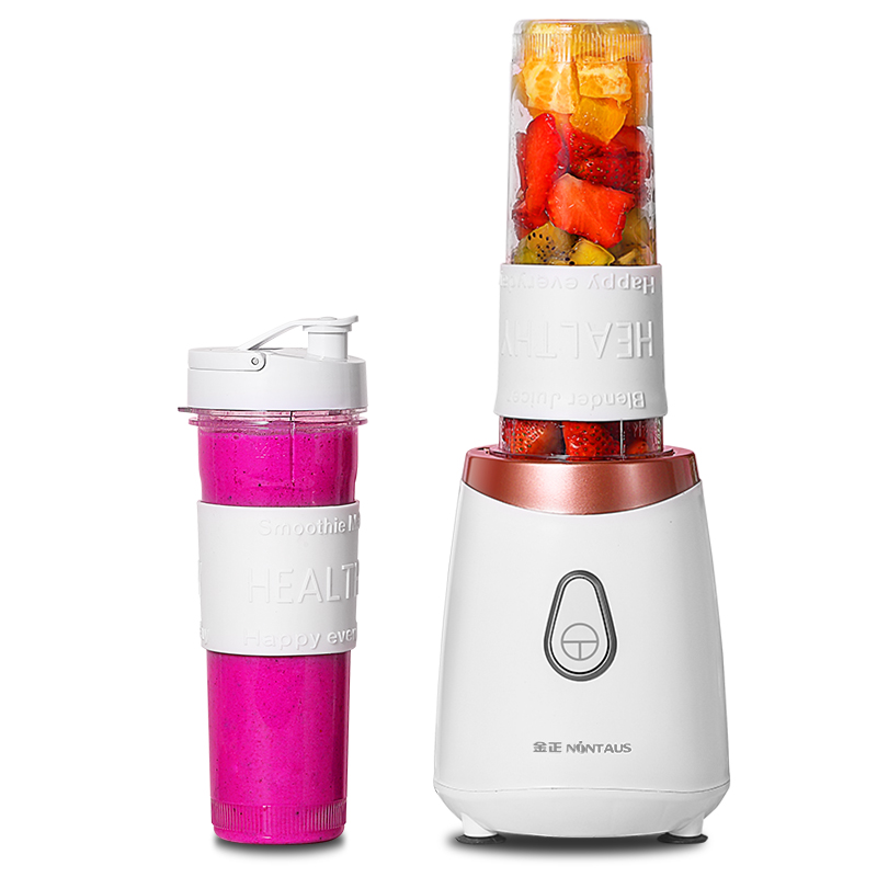 Portable Electric Mini Fruit Juicers Machine with Sports Bottles 200W 500ml Mini Blenders Food Mixer Kitchen Aid цена