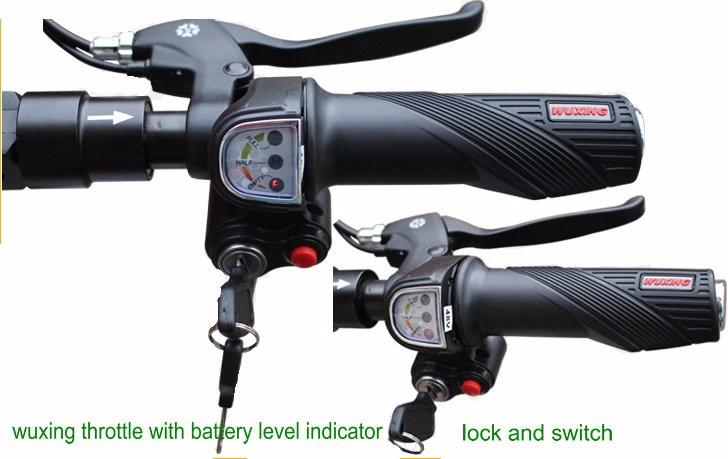 24v36v48v lock key switch display wuxing throtle3