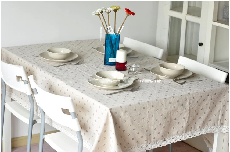 Aliexpress.com : Buy Tablecloth Lace Linen Table Cover Fabric Dining Table  Cloth Free Shipping Zakka Stlye Home Textile Kitchen Party Clothes From  Reliable ...