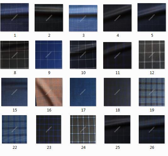 Custom Made Men Windowpane Check Pattern A Lot Color Suits Retro Gorgeous Check Pattern