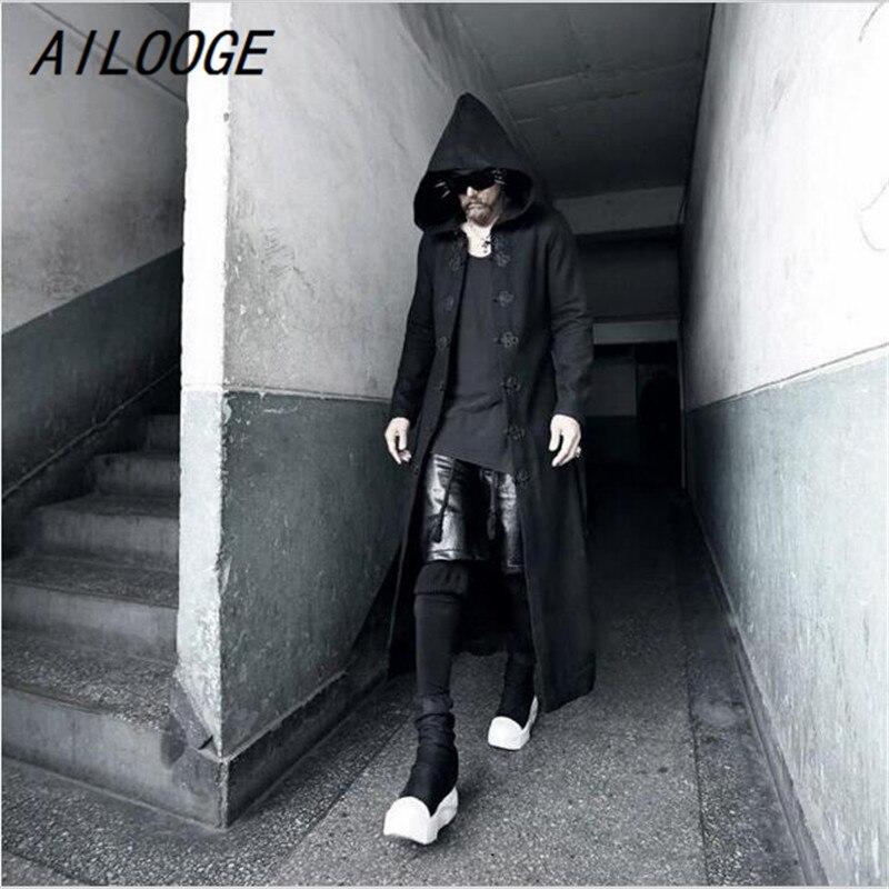 Cashmere feminino casaco longo manga comprida lã solta casaco outwear inverno outono trench coats tamanho grande - 5