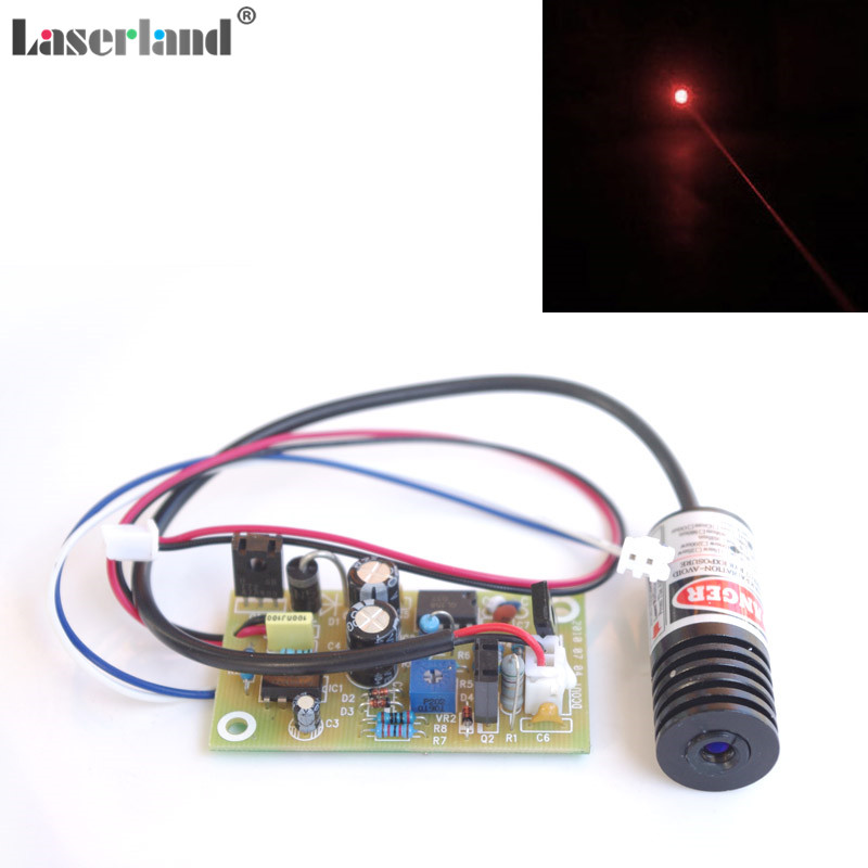 18*45mm 100mW 150mW 650nm 655nm 660nm Red Dot Laser Module Diode With External Driver