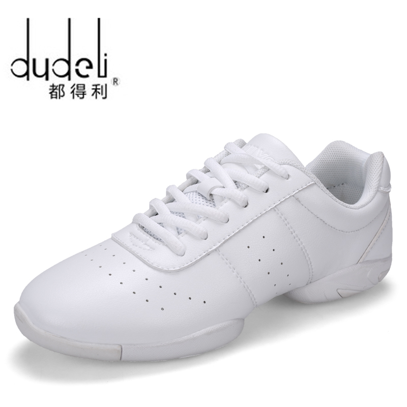 Kids' Competitive Aerobics Shoes Soft Bottom Fitness Shoes Men Women Jazz Shoes Professional Training Dance Sneakers Children 98
