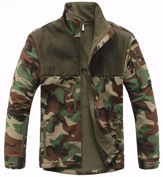Compare Prices on Camouflage Fleece Jacket- Online Shopping/Buy