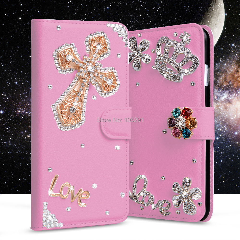 84 Style Lady Fashion Skin For Lg G3 D855 D850 D851 D852 Flip Glitter Bling Wrap Oppo A37 Rhinestone Diamond Wallet Leather Handmade Case In Cases From Cellphones