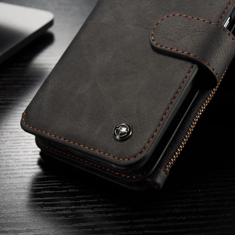 Original CaseMe För Samsung Galaxy S7 Magnetiskt läder 14 - Reservdelar och tillbehör för mobiltelefoner - Foto 5