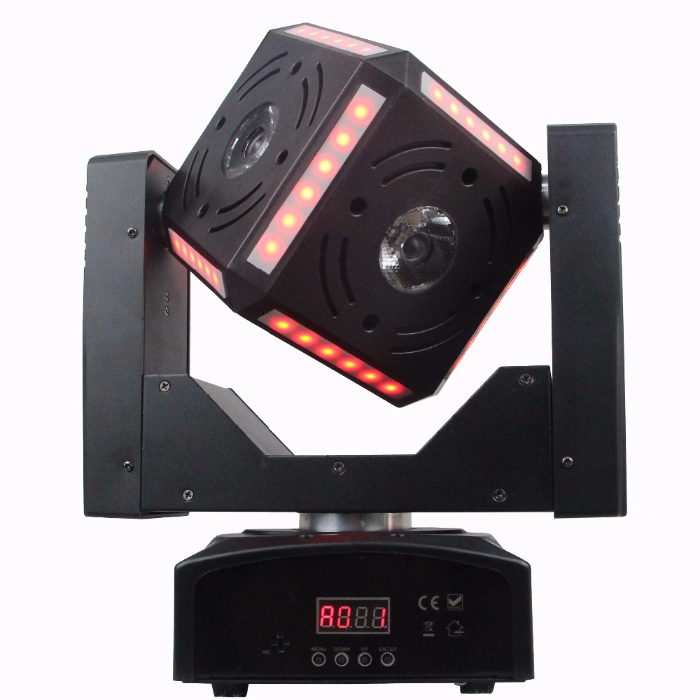 2018 New 60W Beam moving head 72pcs RGB wash DMX stage light for disco/Party/home free shipping 3wx36 rgb moving head wash professional dmx disco light show new product for 2016
