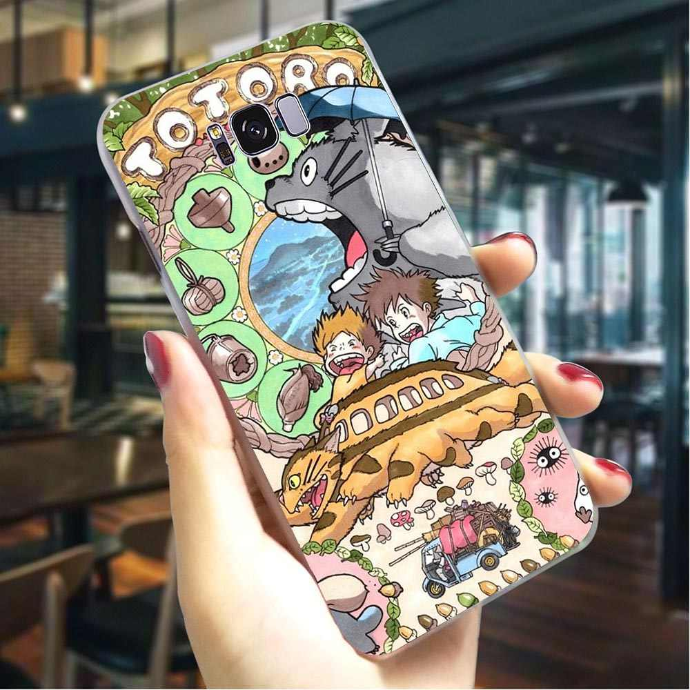 Hard Case for Galaxy A30 My Neighbor Totoro Cover for Samsung A7 Cases A8 A3 A6 Plus A5 A9 A10 A20 A40 A50 A70 Covers Back