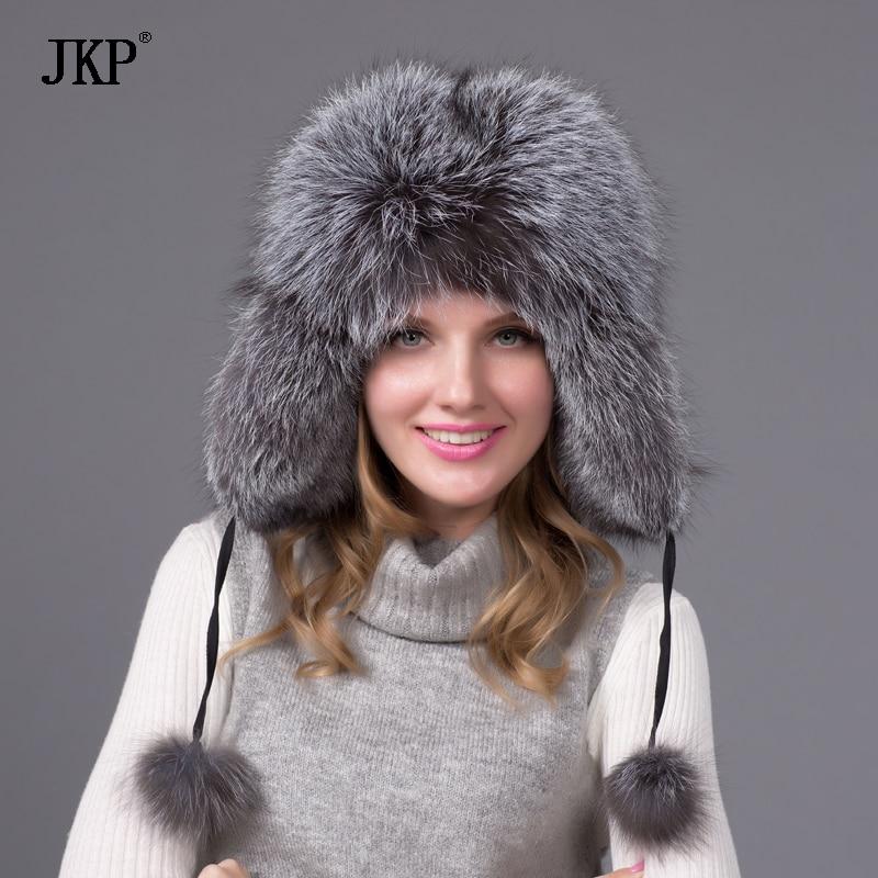 2018 Бест Селлерс роба капа од лисице или ракуна зимска капа женска капа руска капа бесплатна поштарина17 боја у продаји