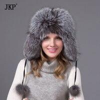 Merci cappello di pelliccia di volpe o procione inverno cappello di pelliccia donne cap berretto russo shipping17 libero colori in vendita