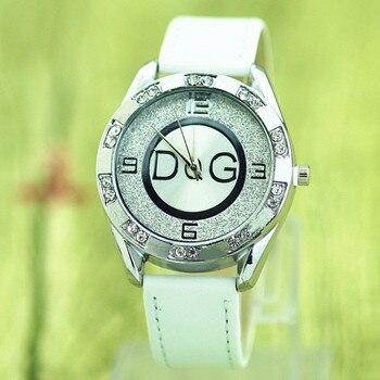 c98838afd Kobiet zegarka marca superior reloj de cuarzo Casual relojes de vestir para  mujer reloj de pulsera reloj deportivo de cuero relojes de pulsera de moda  para ...