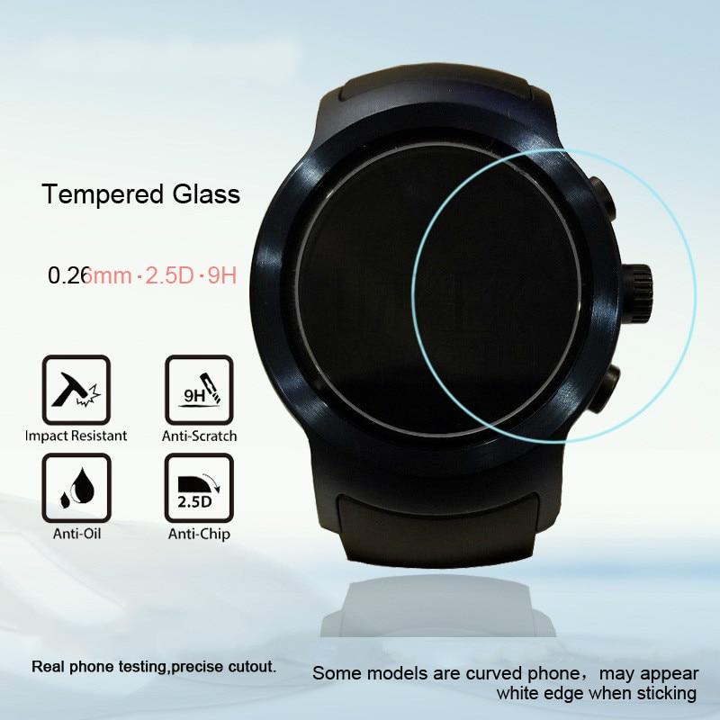 For LG Smart Sports Bracelet Glass Film for LG W281 Smart Bracelet Scratch Proof Easy to Install Protective Film
